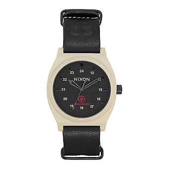 Nixon The Time Teller LTD Bone / Black Taka (A1120-2518)