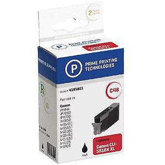 Prime Printing Technologies Cartridge 4185921 Replaces Canon Cli-551Bk Xl Black 12 Ml