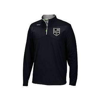 Reebok Center Ice Baselayer 1/4 Zip NHL Jacke LA Kings