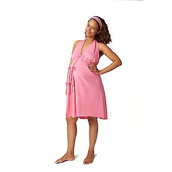 Pretty Pushers Women's Cotton Jersey Labor Gown- Plus Size