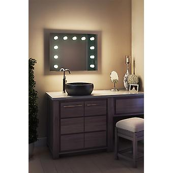 Diamond X Bodenmontage Hollywood Make-up-Spiegel mit dimmbaren LED-k95LEDbath