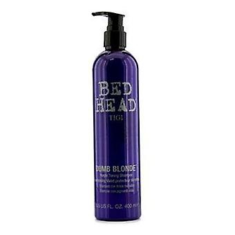Bed Head Dumb Blonde Purple Toning Shampoo - 400ml/13.5oz