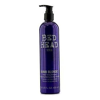 蒂芝床头哑金色紫色色调洗发水-13.5 盎司 400 毫升