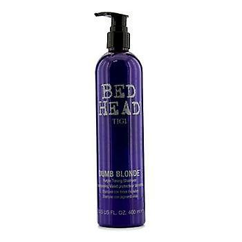 Tigi Bed Head Dumb Blonde lila Toning schampo - 400ml / 13,5 oz