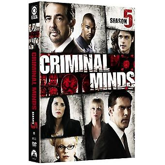 Criminal Minds - Criminal Minds: Season 5 [DVD] USA import