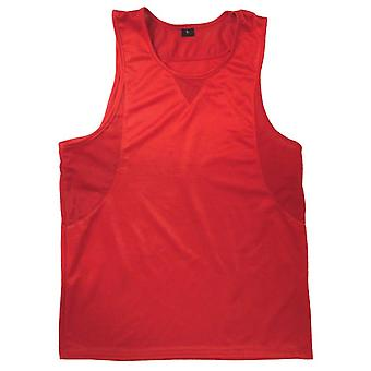 Ringside på lager boksning Jersey - rød