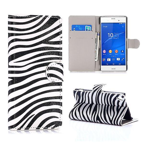 Wallet bag pattern 7 for Sony Xperia Z3 D6653 L55T