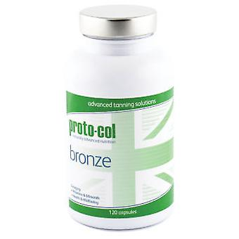 Proto-col Bronze 120 Cápsulas (Cosmetics , Body  , Sun protection)