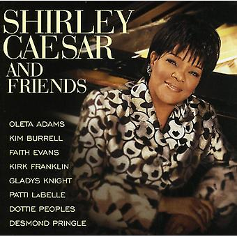 Shirley Caesar - Shirley Caesar & venner [CD] USA import