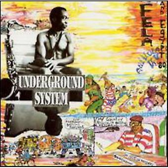 Fela Kuti - Underground System [CD] USA import