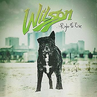 Wilson - Right to Rise [Vinyl] USA import