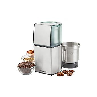 Andrew James Wet & Dry Nut, Spice And Coffee Grinder With Stainless Steel Blades