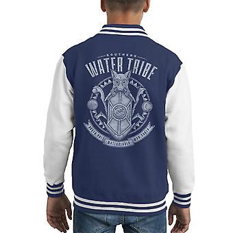 Water Is welwillende Avatar de laatste Airbender Kid's Varsity Jacket