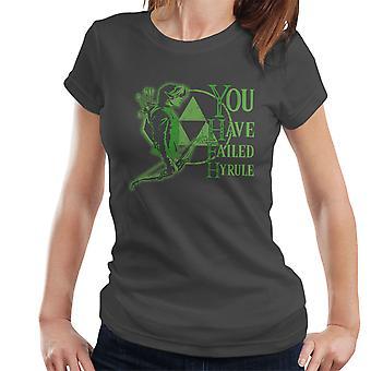 Zelda du har misslyckats Hyrule Women's T-Shirt