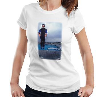 Elton John Jump White Women's T-Shirt