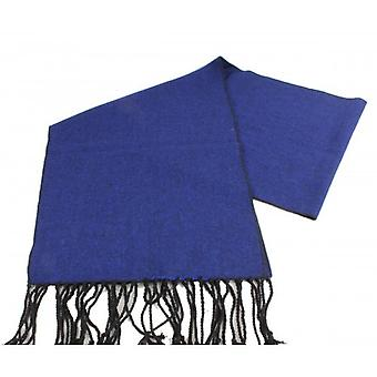 Knightsbridge Neckwear Tweed Wool Scarf - Royal Blue