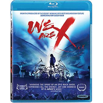We Are X [Blu-ray] USA import