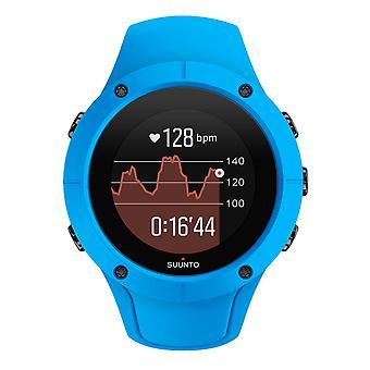 Polso di Suunto GPS orologio Spartan allenatore HR Blau