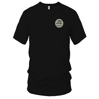 US Navy Submarine Fort Wayne Base Embroidered Patch - Mens T Shirt