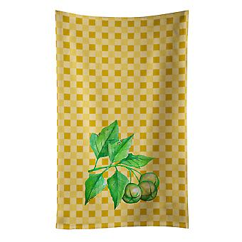 Carolines Treasures  BB7188KTWL Candlenut on Basketweave Kitchen Towel