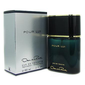 Pour Lui for Men by Oscar de La Renta 3 oz EDT Spray