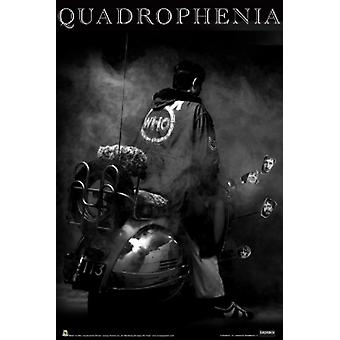The Who Quadrophenia Poster Poster Print