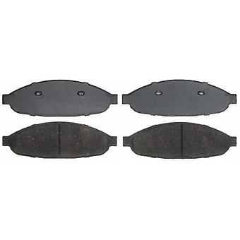 ACDelco 14D997CH Advantage Ceramic Front Disc Brake Pad Set