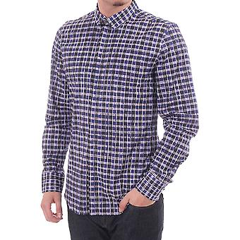 PS Paul Smith Bold Checked Shirt Covered Placket