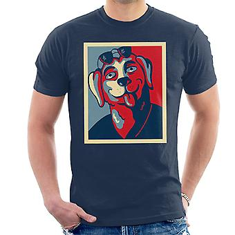 Mr Peanutbutter For Governor Bojack Horseman Men's T-Shirt