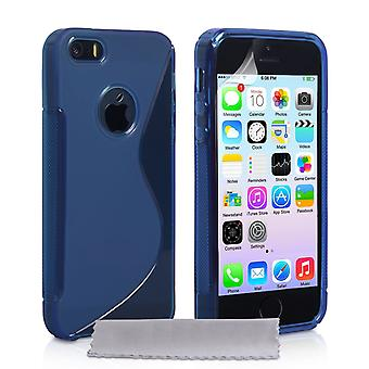 Caseflex iPhone 5 And 5s Caseflex S-Line Gel Case - Blue