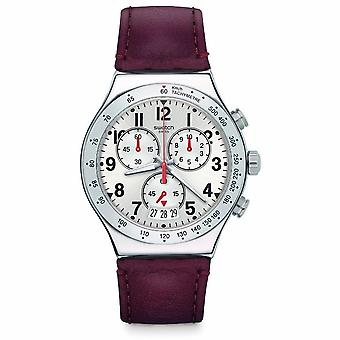 Swatch Men's Destination Roma Chronograph Watch YVS431