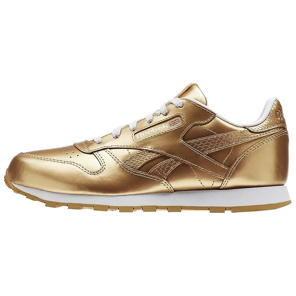 f533ed3f40c Reebok Classic Leather Metallic Brass BS8944 universal all year kids shoes