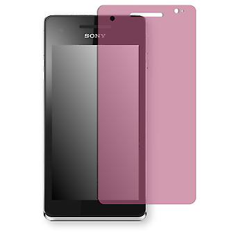 Sony Xperia V screen protector - Golebo view protective film protective film