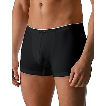 Mey 46121-123 Men's Dry Cotton Black Solid Colour Fitted Boxer