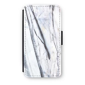 Huawei P8 Lite (2015-2016) Flip Case - Striped marble