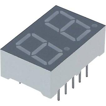 Seven-segment display Orange yellow 10 mm 2.05 V No. of digits: