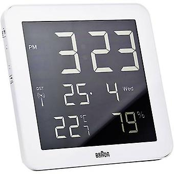 Radio Wall clock Braun 66028 210 mm x 210 mm x 23 mm
