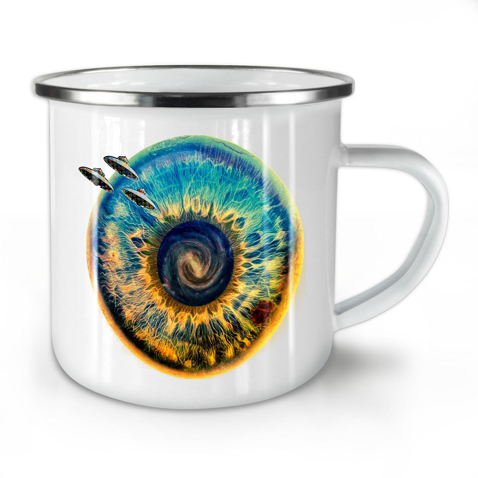 Whitetea Coffee Spaceship Enamel Being Space OzWellcoda New Mug10 OX0NnwPk8