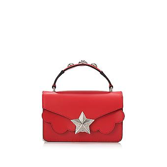 Les jeunes ETOILES ladies V02SM01F01N red leather shoulder bag