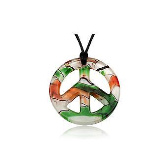 Fred grön Murano glas hänge