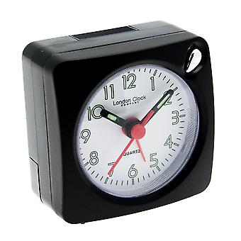 Black Mini Travel Alarm Clock