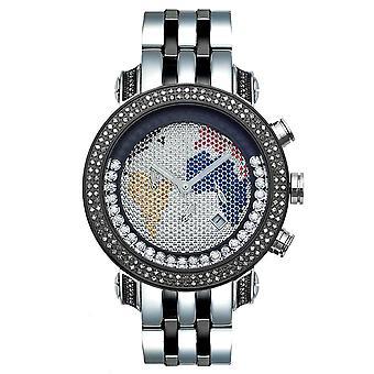 Joe Rodeo Diamant Herren Uhr - CLASSIC schwarz 1.75 ctw
