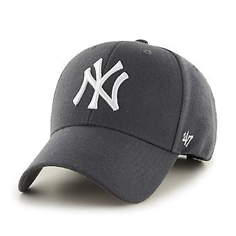 47 fire relaxed fit Cap - MVP New York Yankees charcoal