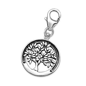Tree Of Life - 925 Sterling Silver Charms With Lobster - W24578x