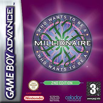 Who Wants To Be A Millionaire (2) (GBA)