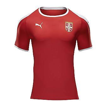 2018-2019 Сербия дома Puma футболка