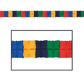 Ghirlanda di foglia - colori assortiti