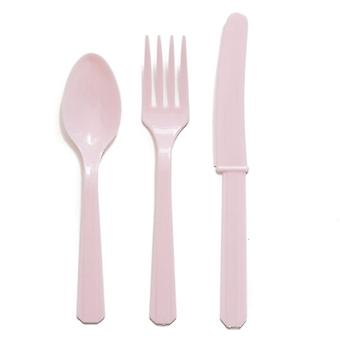 Pastel Pink Cutlery