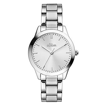 s.Oliver women's watch wristwatch stainless steel SO-3438-MQ