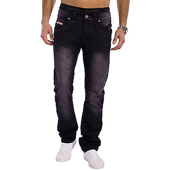 Men Jeans Designer Used Relax Fit Riddig